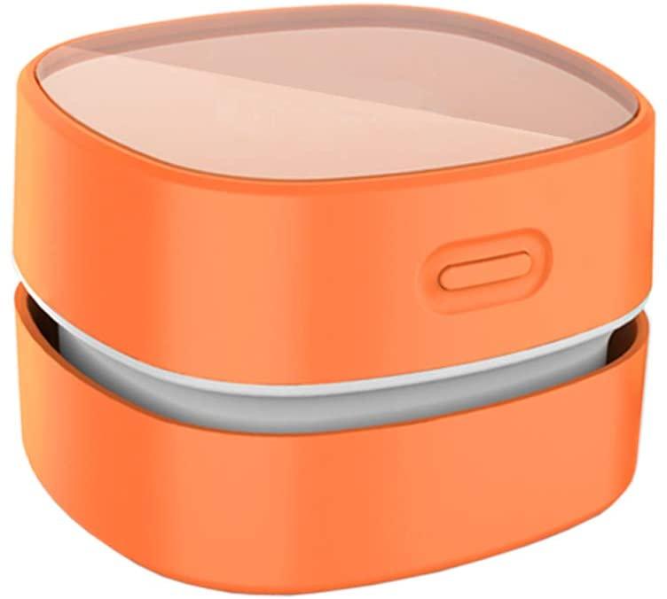 orange vacuum cleaner