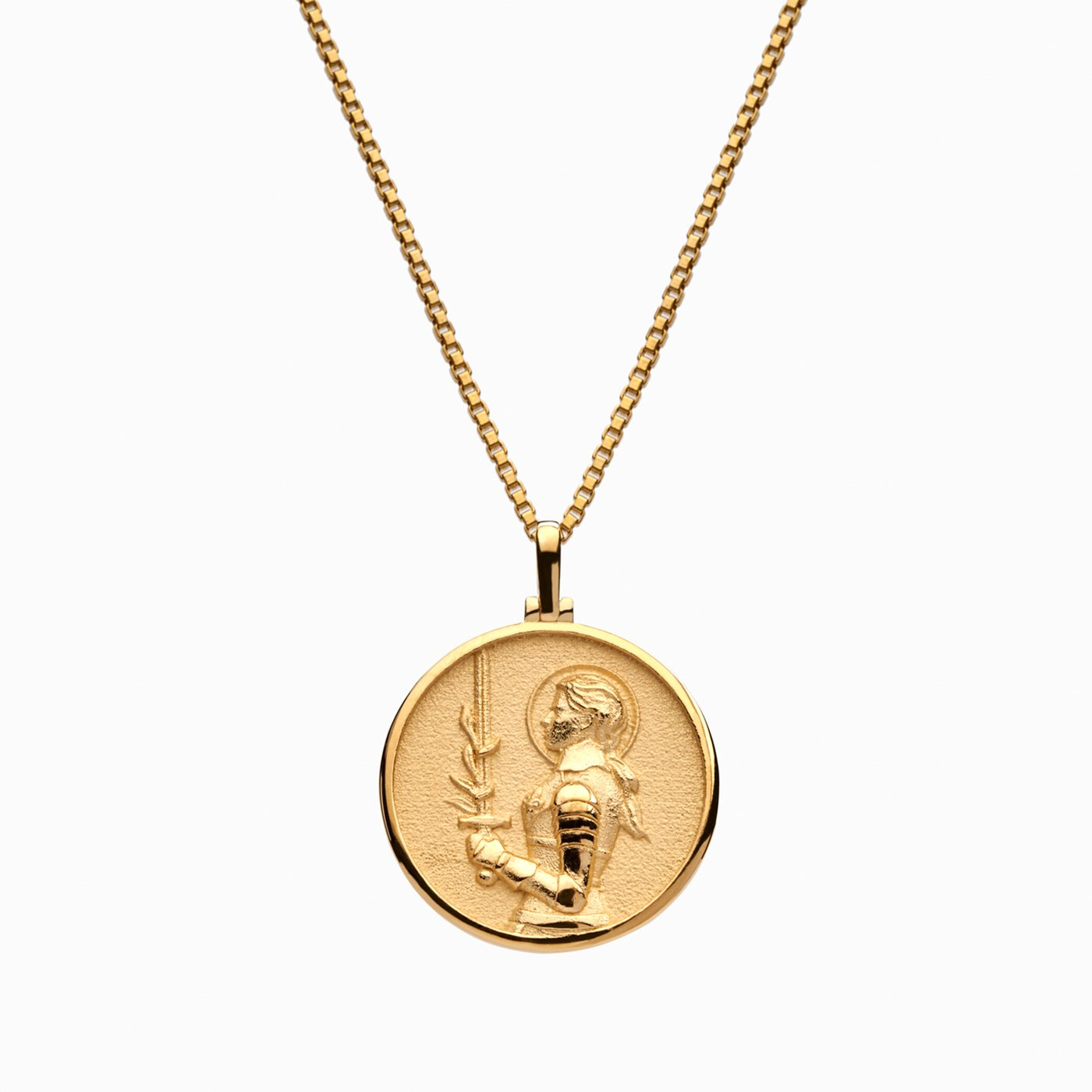 gold coin necklace; greek goddess necklace
