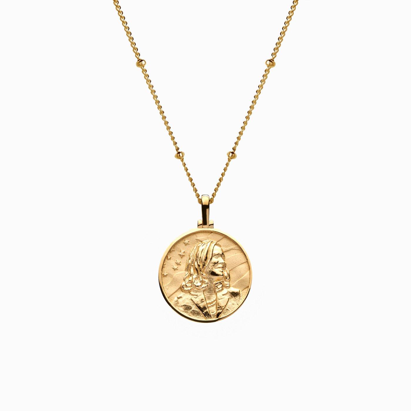 kamala harris necklace