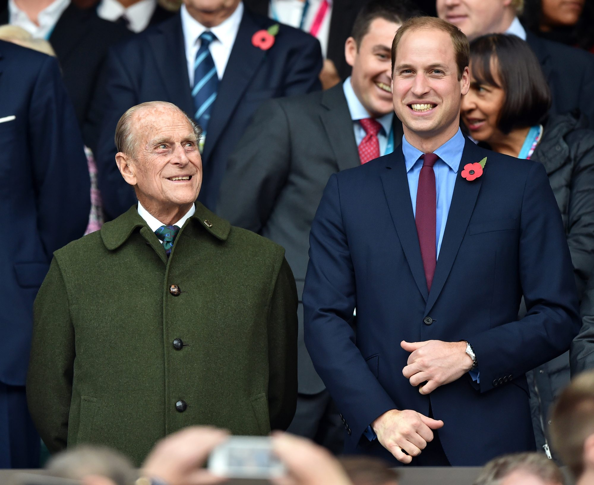 Prince Philip and Prince William