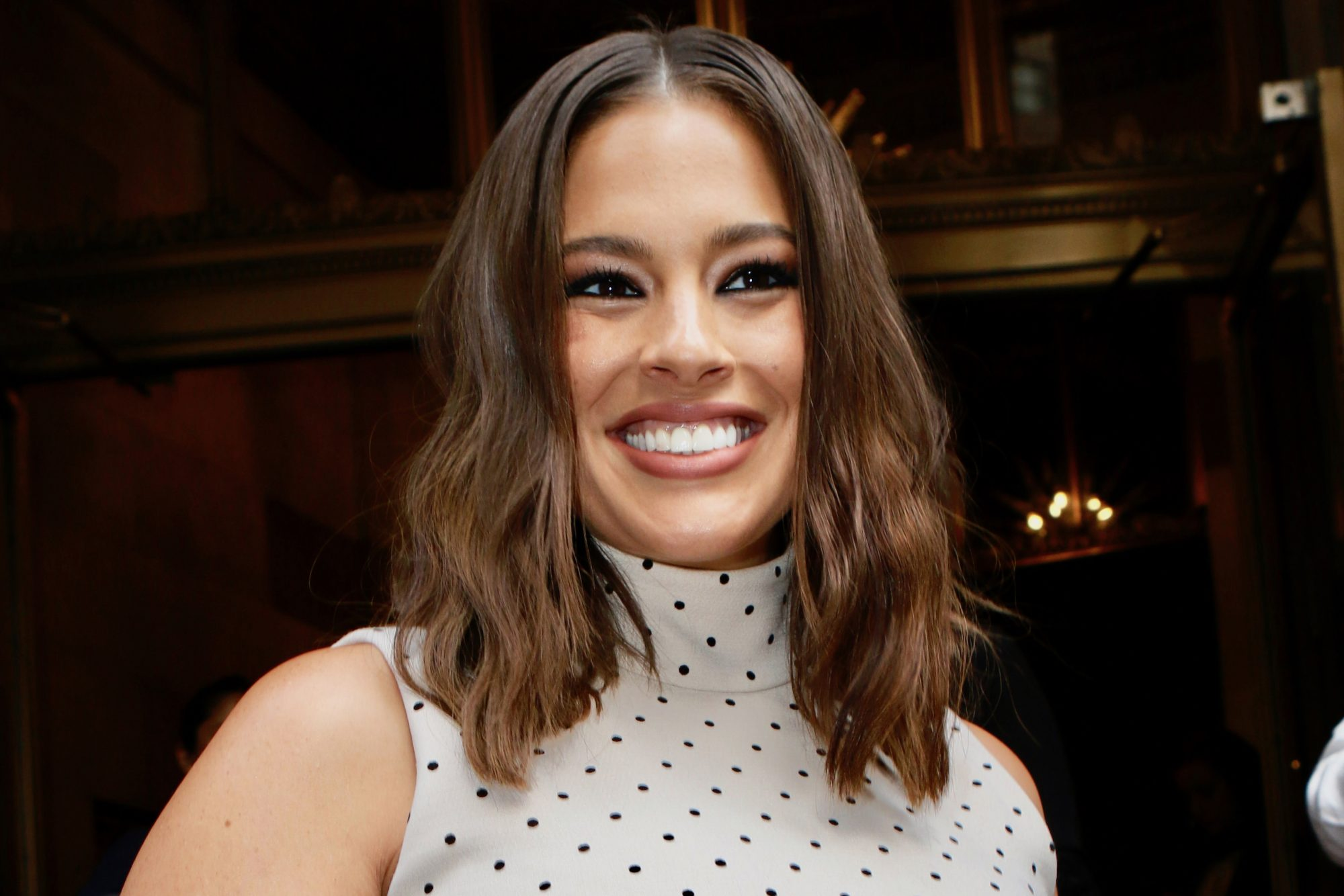 ashley graham postpartum hair growth