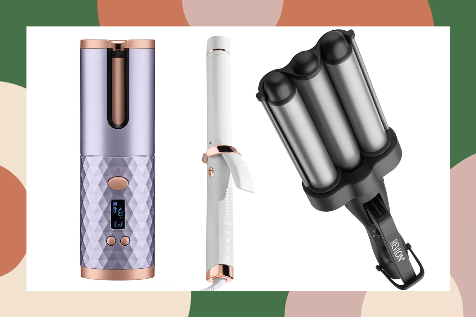 best curling irons for beachy waves