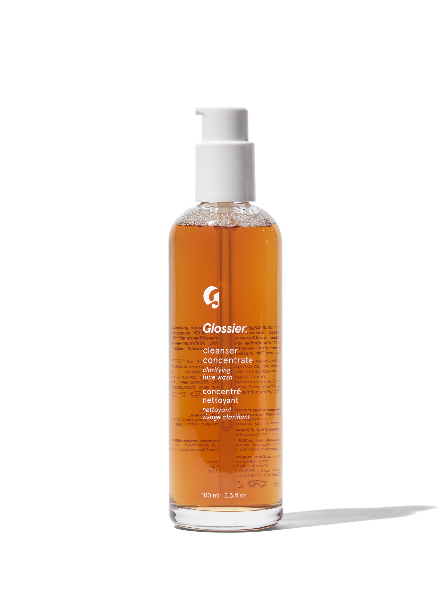 glossier cleanser concentrate launch