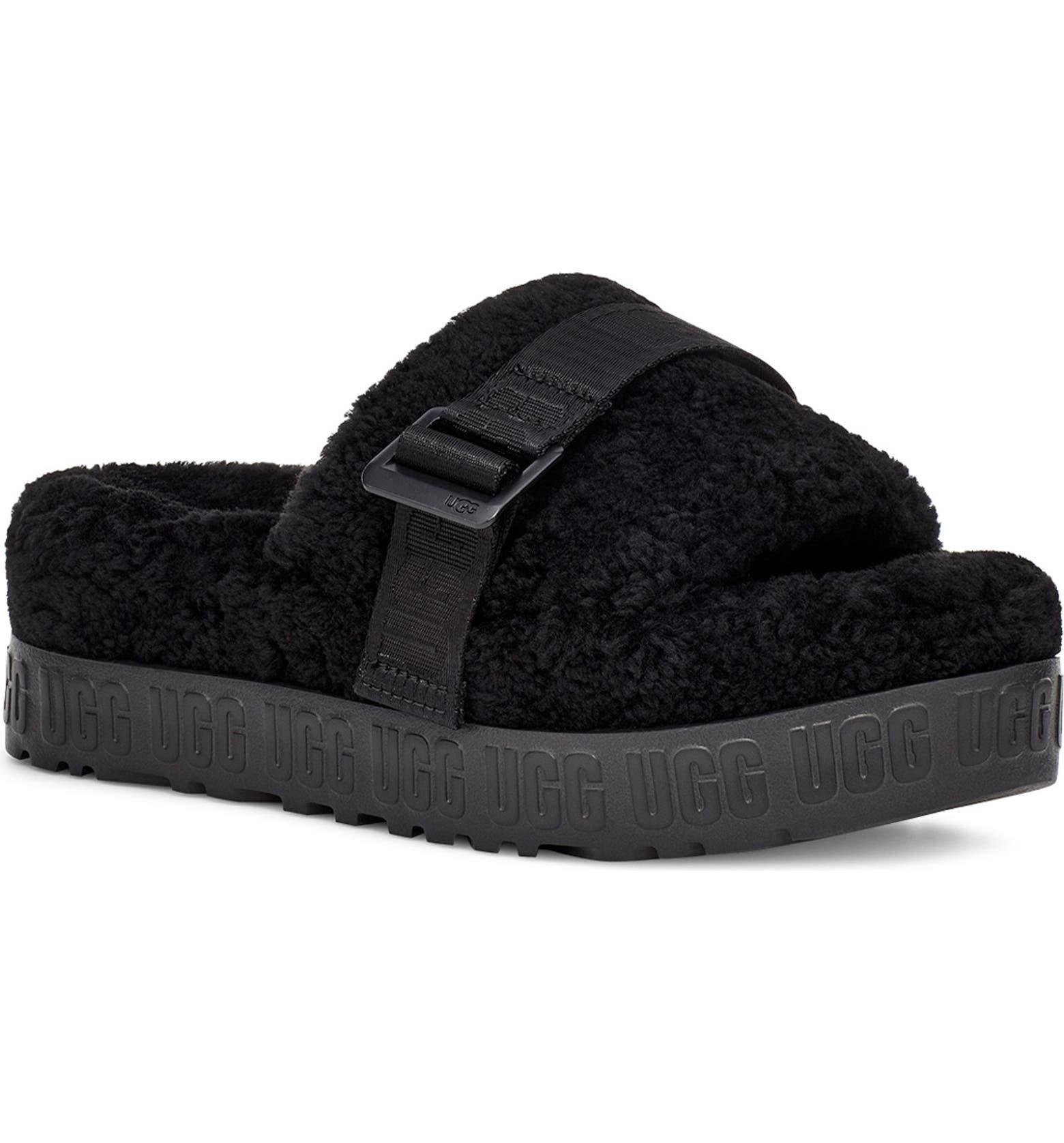 platform ugg slippers