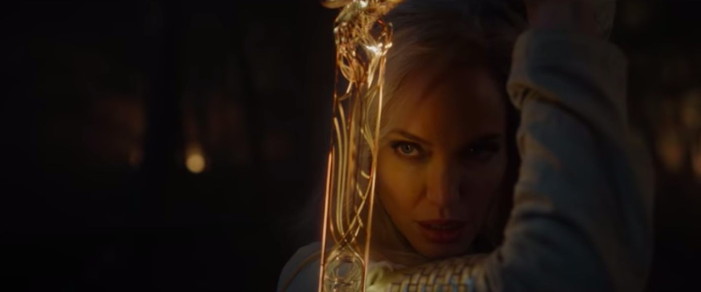 Angelina Jolie in 'Eternals'