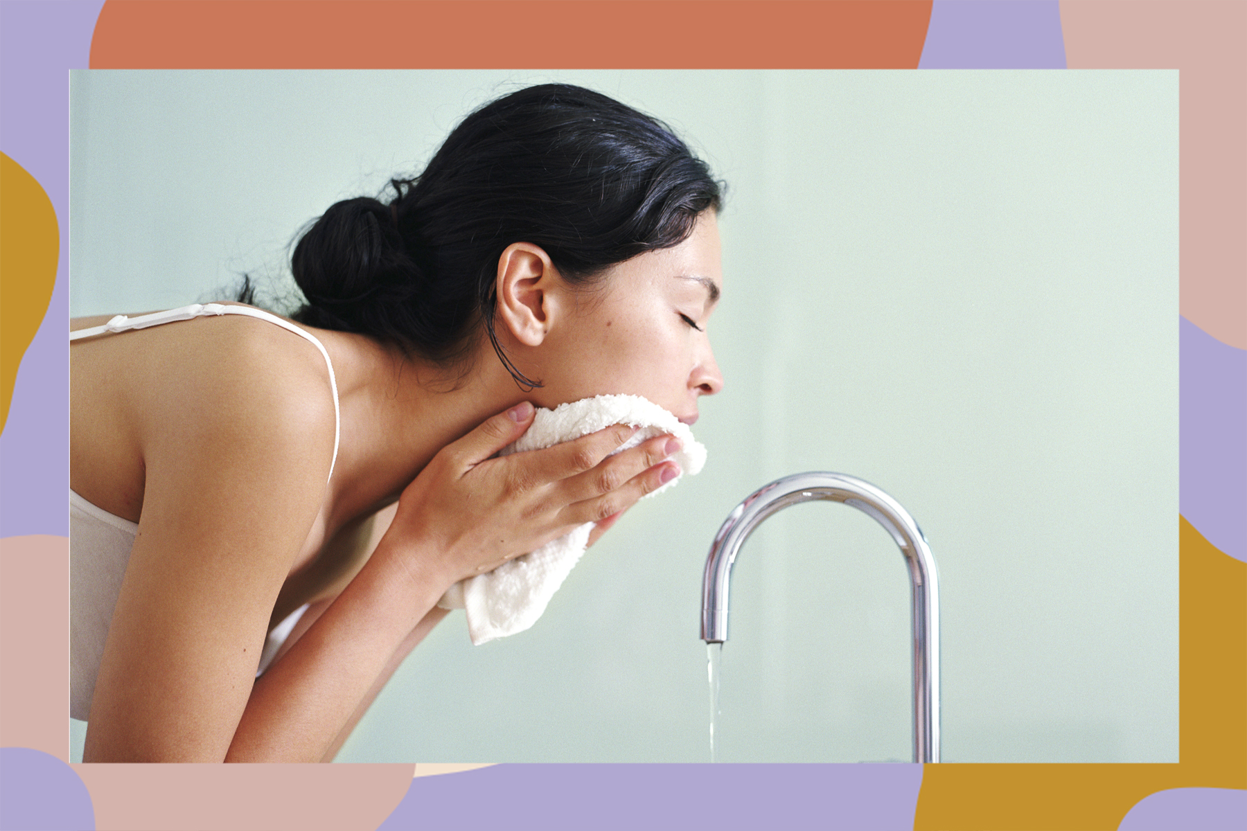 tap water effects on skin hard water