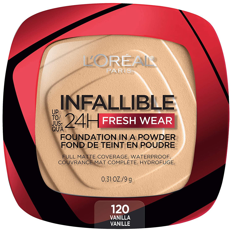 l'oreal paris Infallible Fresh Wear Foundation in a Powder tiktok review