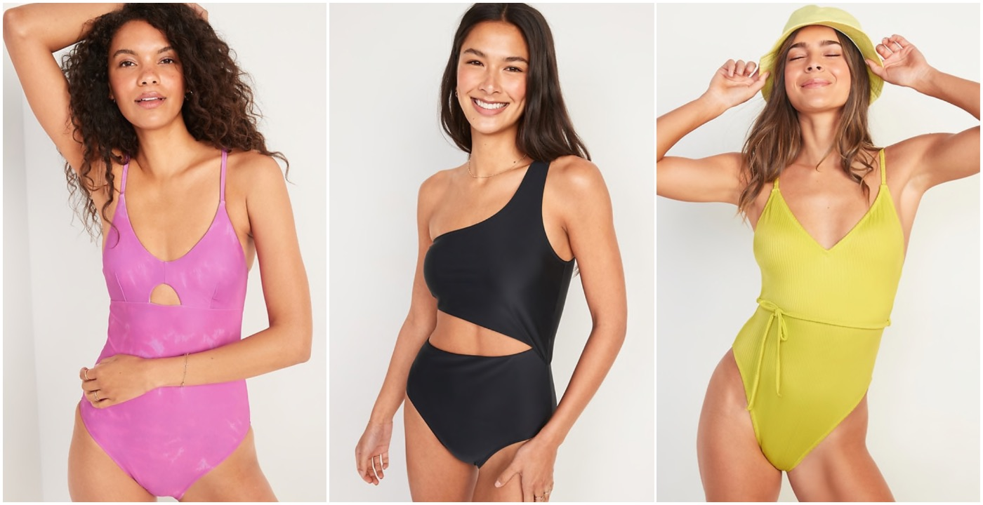 Old Navy one piece swimsuits