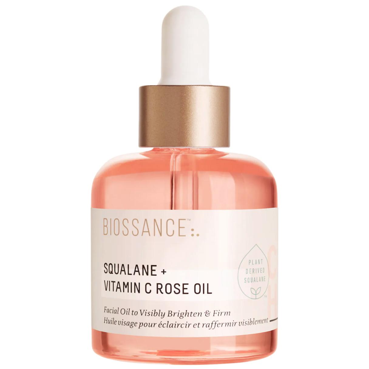 nam vo skincare routine biossance face oil