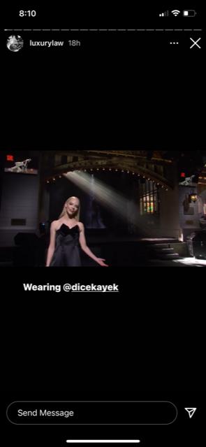 taylor-joy black dress