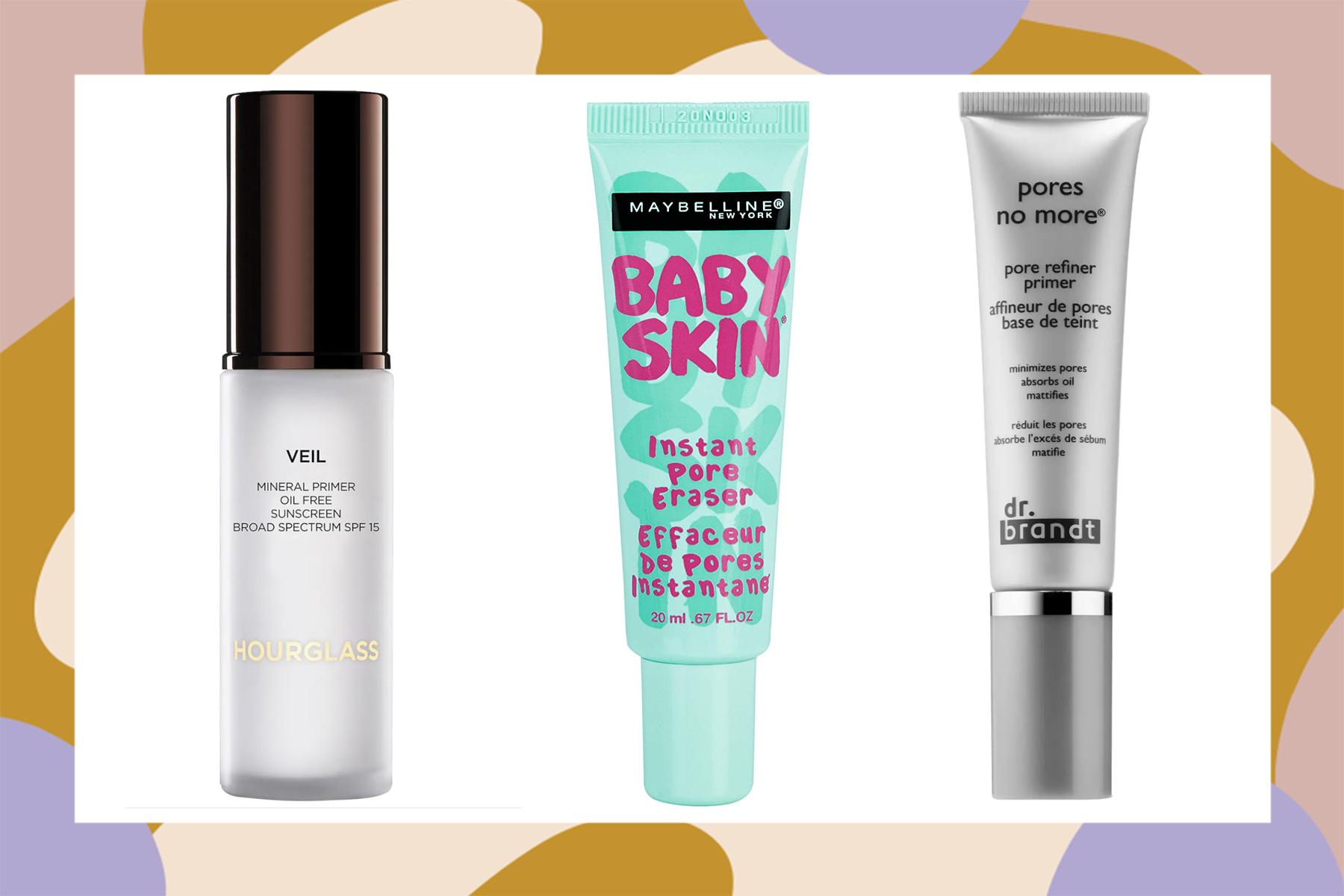 primers for large pores pore-minimizing blurring