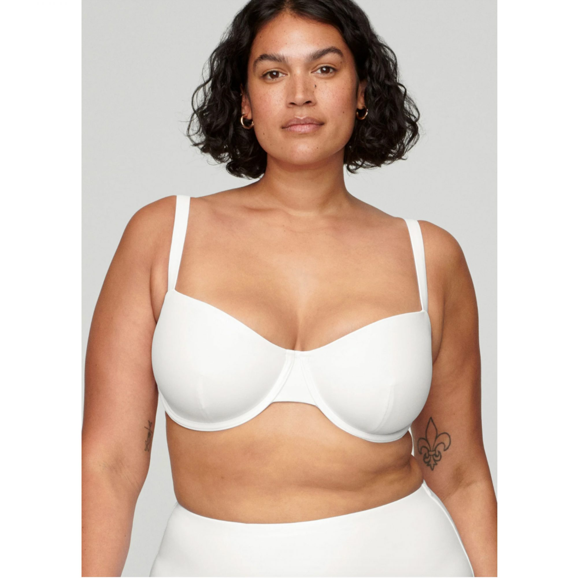 cuup-high-waisted-swim, plus-size-woman-swimsuit