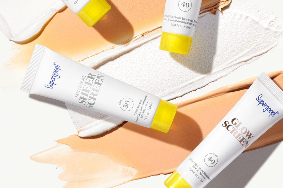 supergoop sunscreen sale