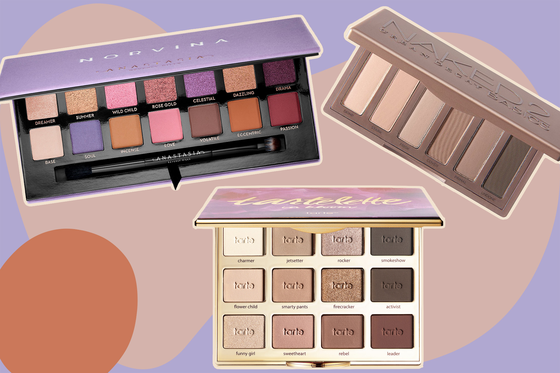 best eyeshadow palettes for every eye color