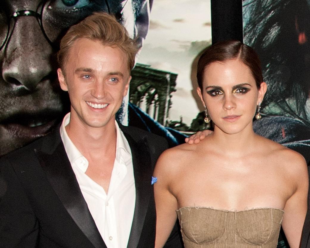 Tom Felton and Emma Watson