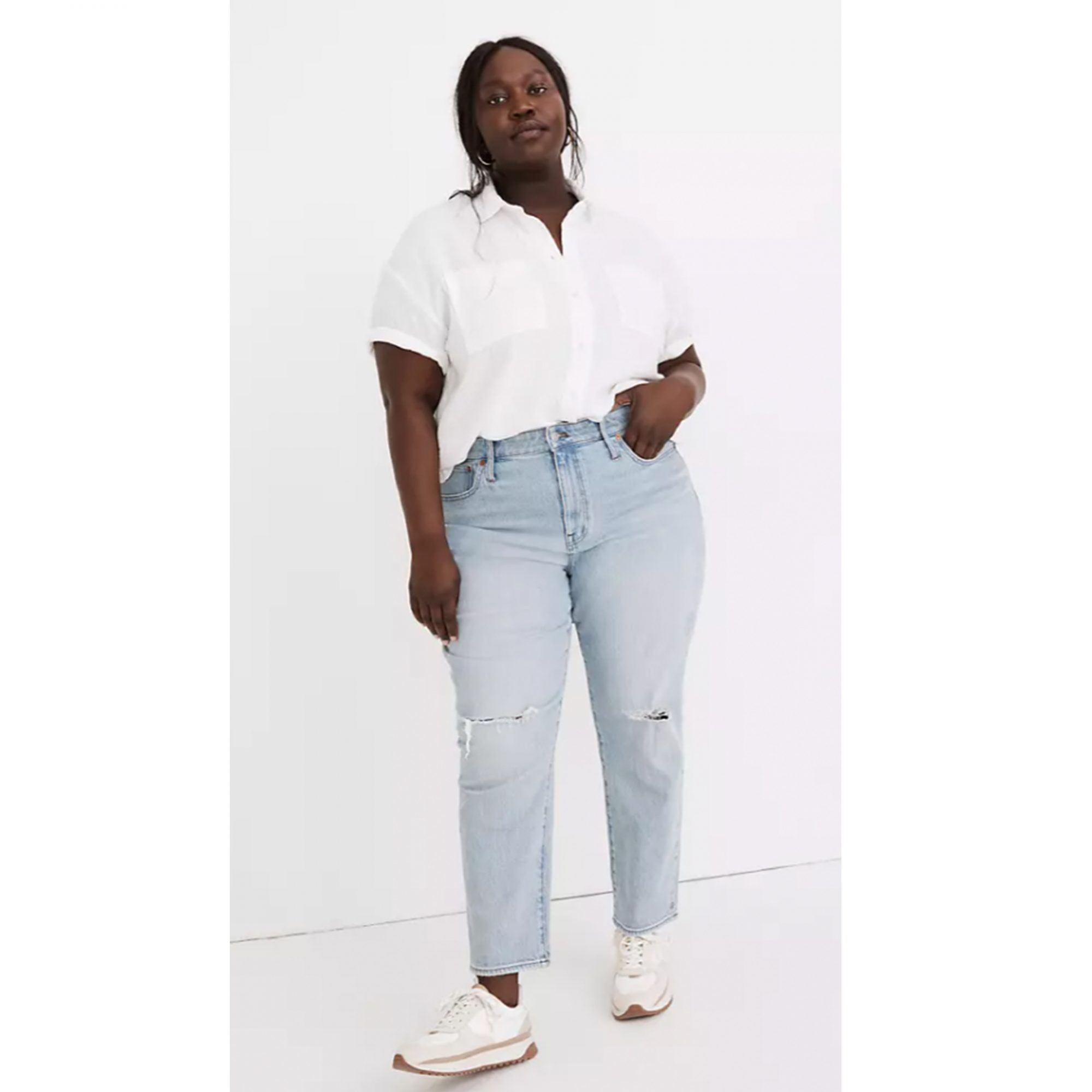 madewell-High-Rise-slim-crop-boyfriend-jean, best-jeans-for-every-body-type, best-jeans-for-women