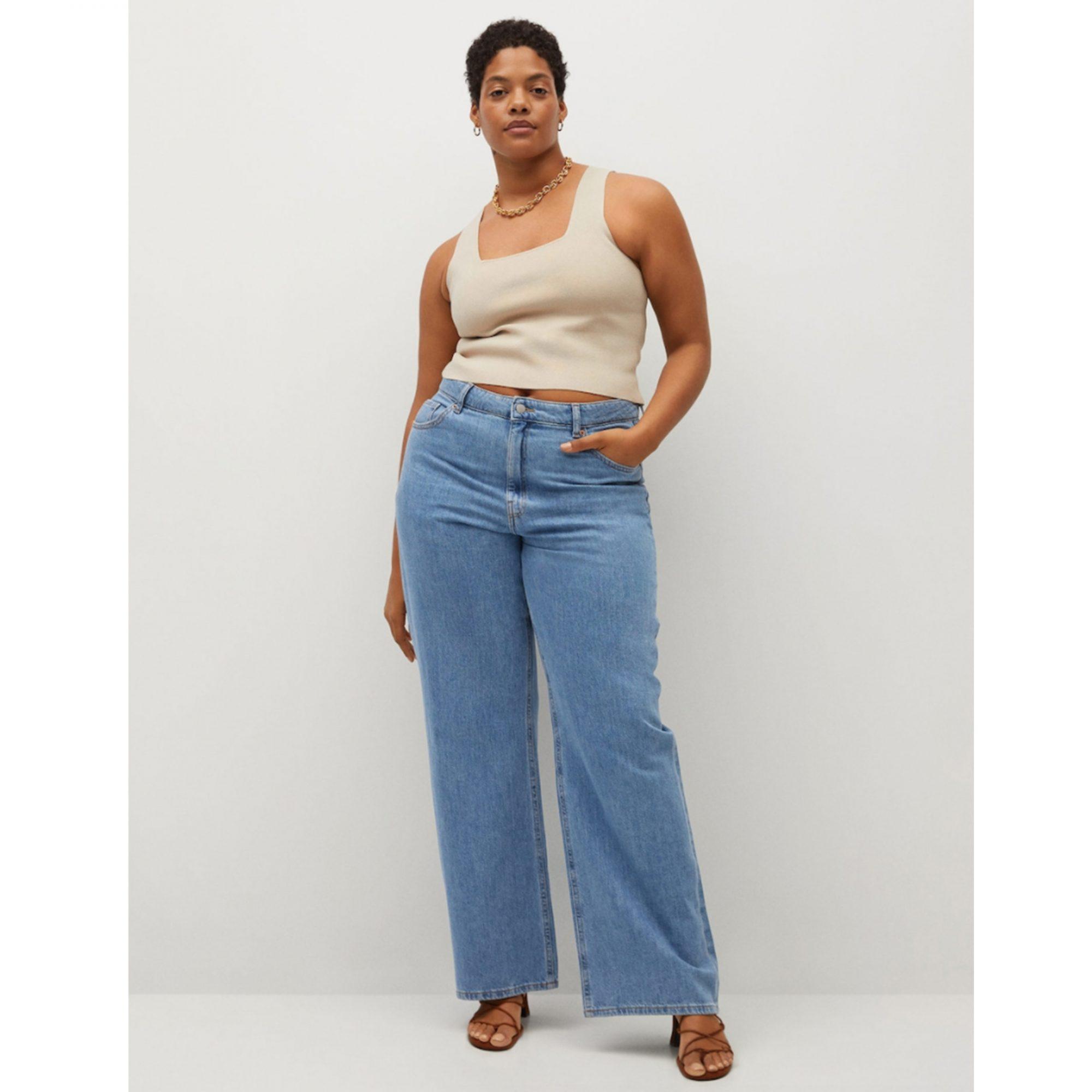 mango-wide-leg-jeans, best-jeans-for-women