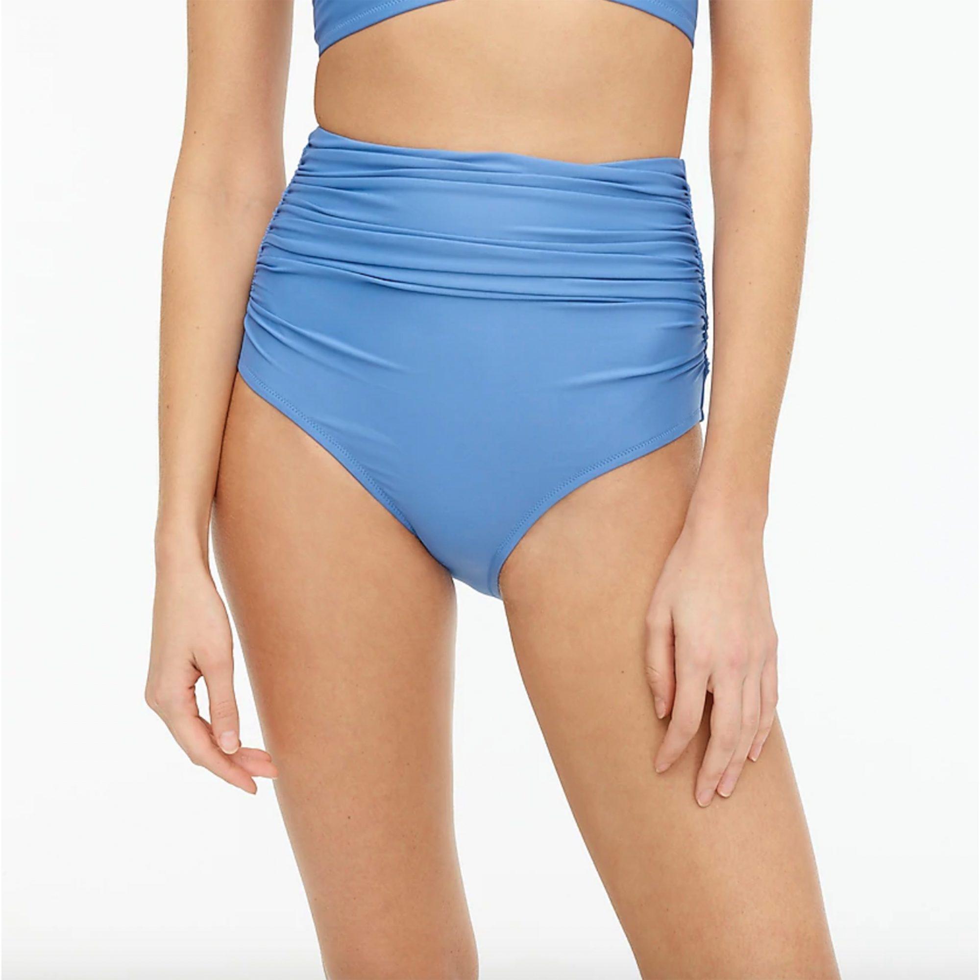 best-ruched-bikini-bottom, j-crew-ruched-bikini-bottom