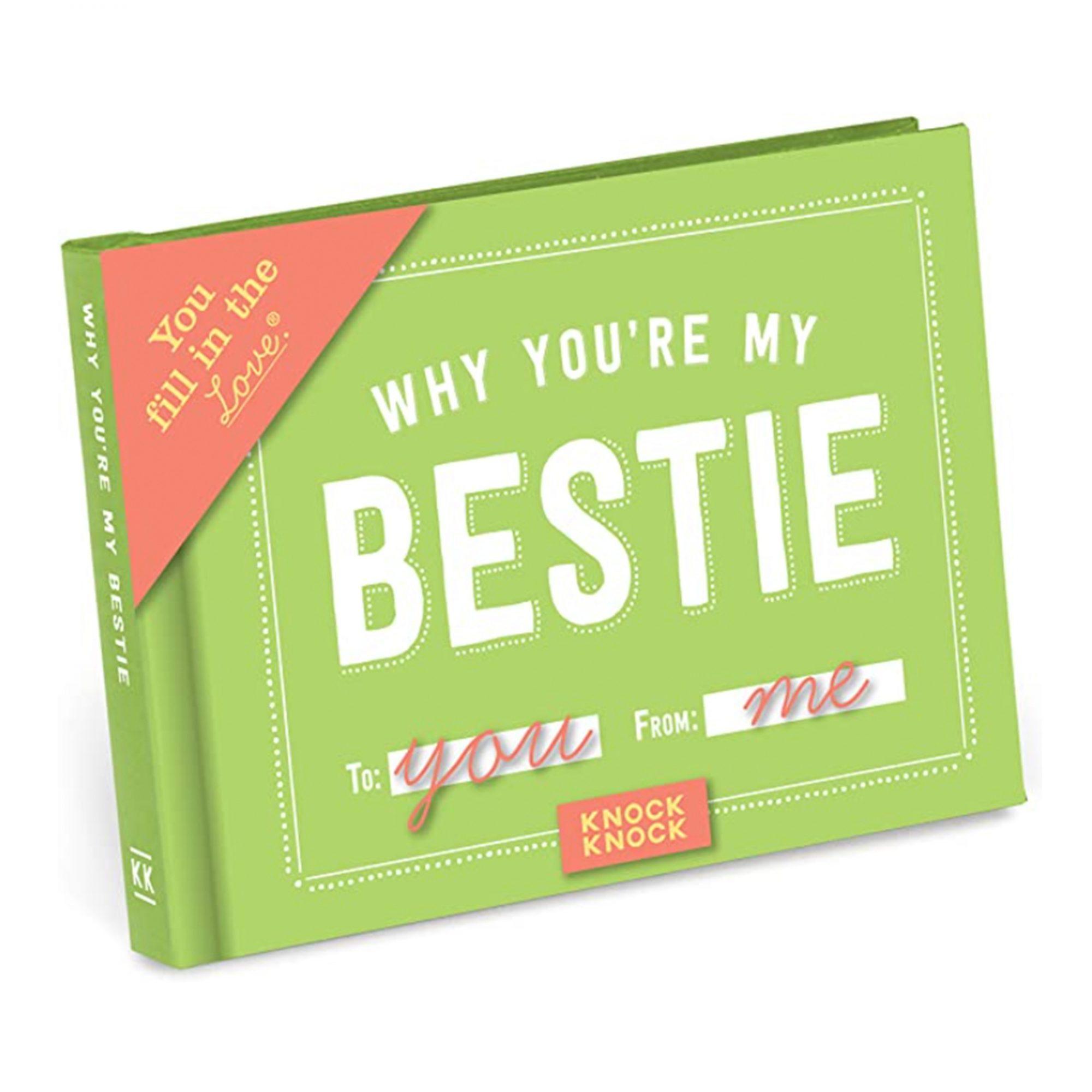 why-youre-my-bestie-book, best-friend-gift-ideas