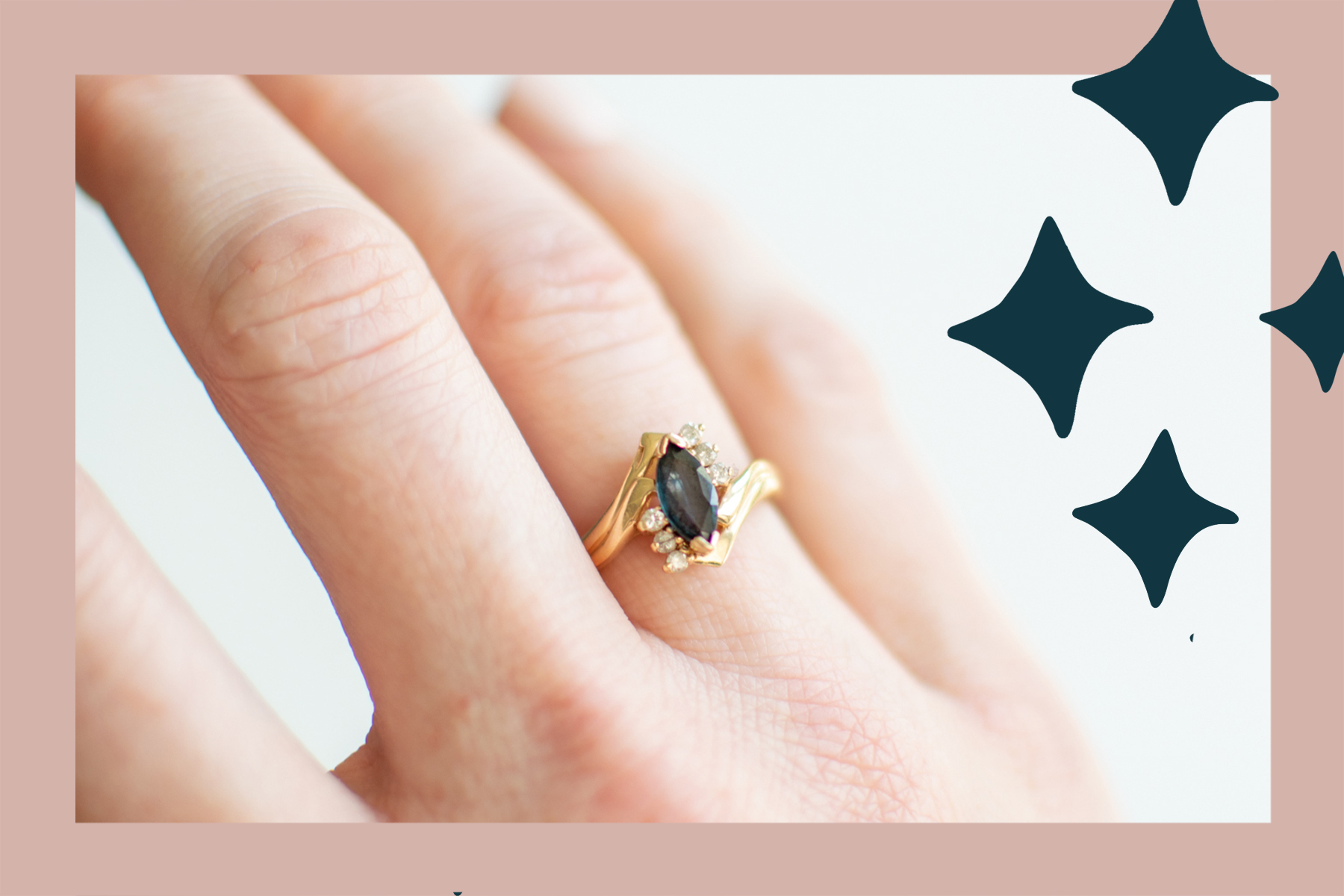 Single Woman Engagement Ring