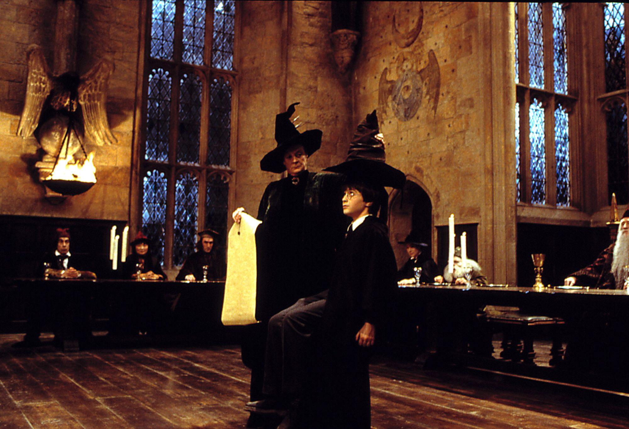 Harry Potter Hogwarts house quiz
