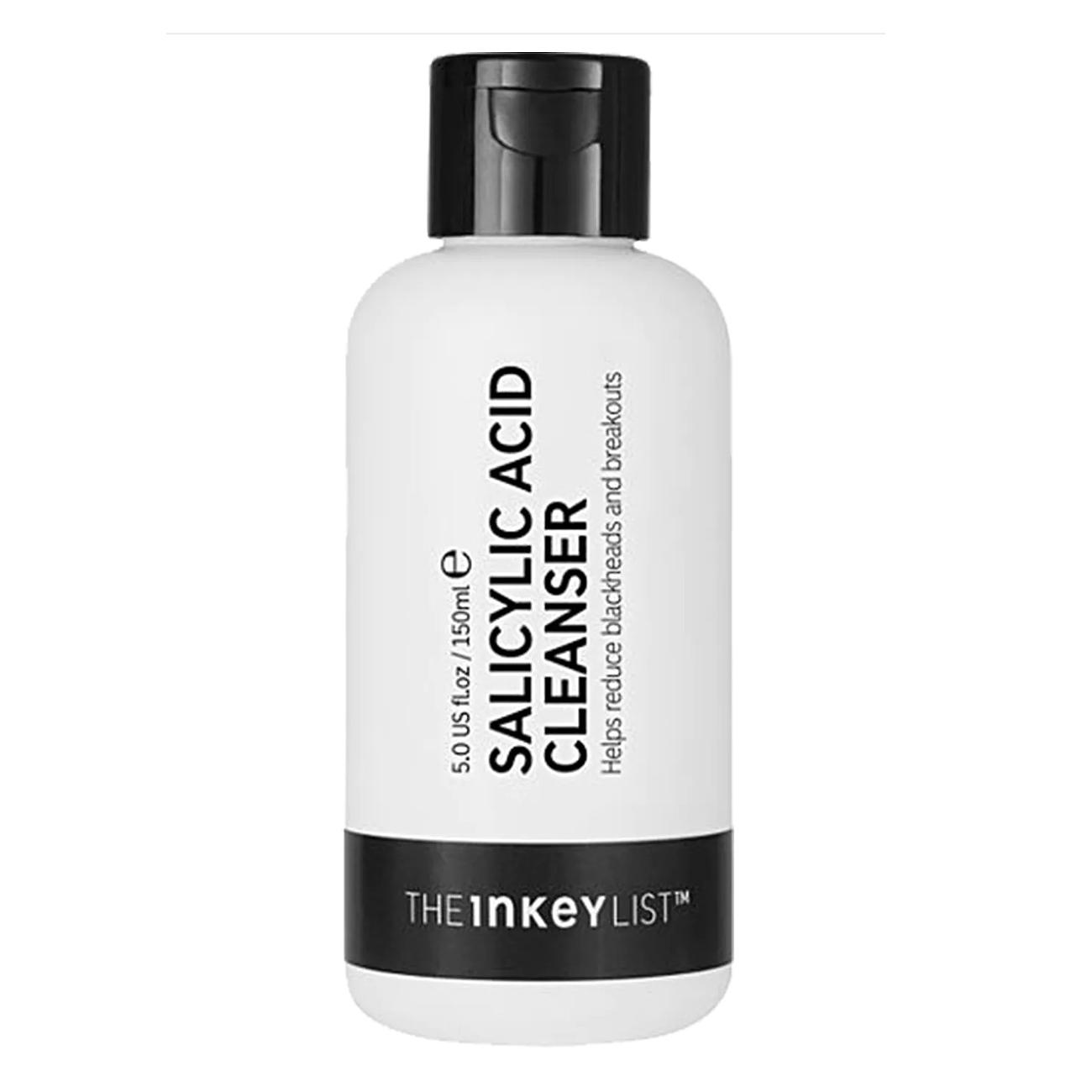 best exfoliating face wash foaming inkey list cheap sephora