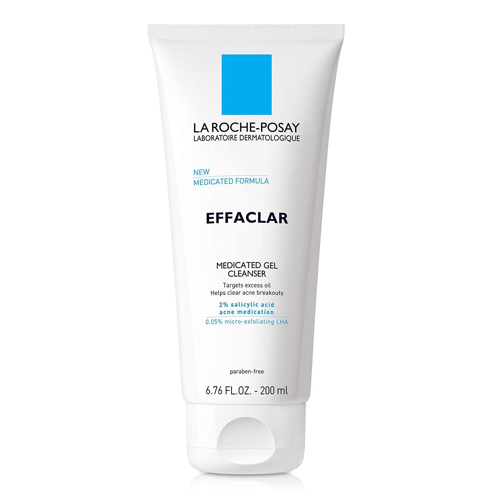 best exfoliating face wash la roche posay oily skin drugstore amazon