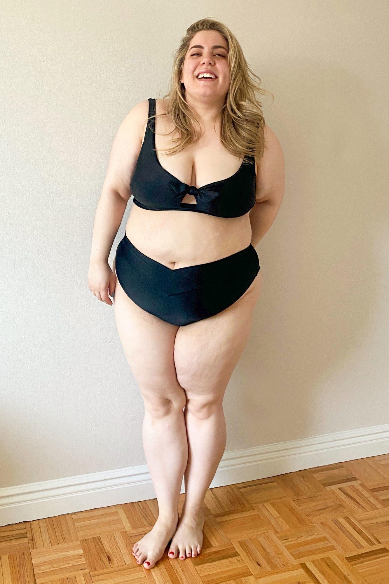 aerie crossover bikini review
