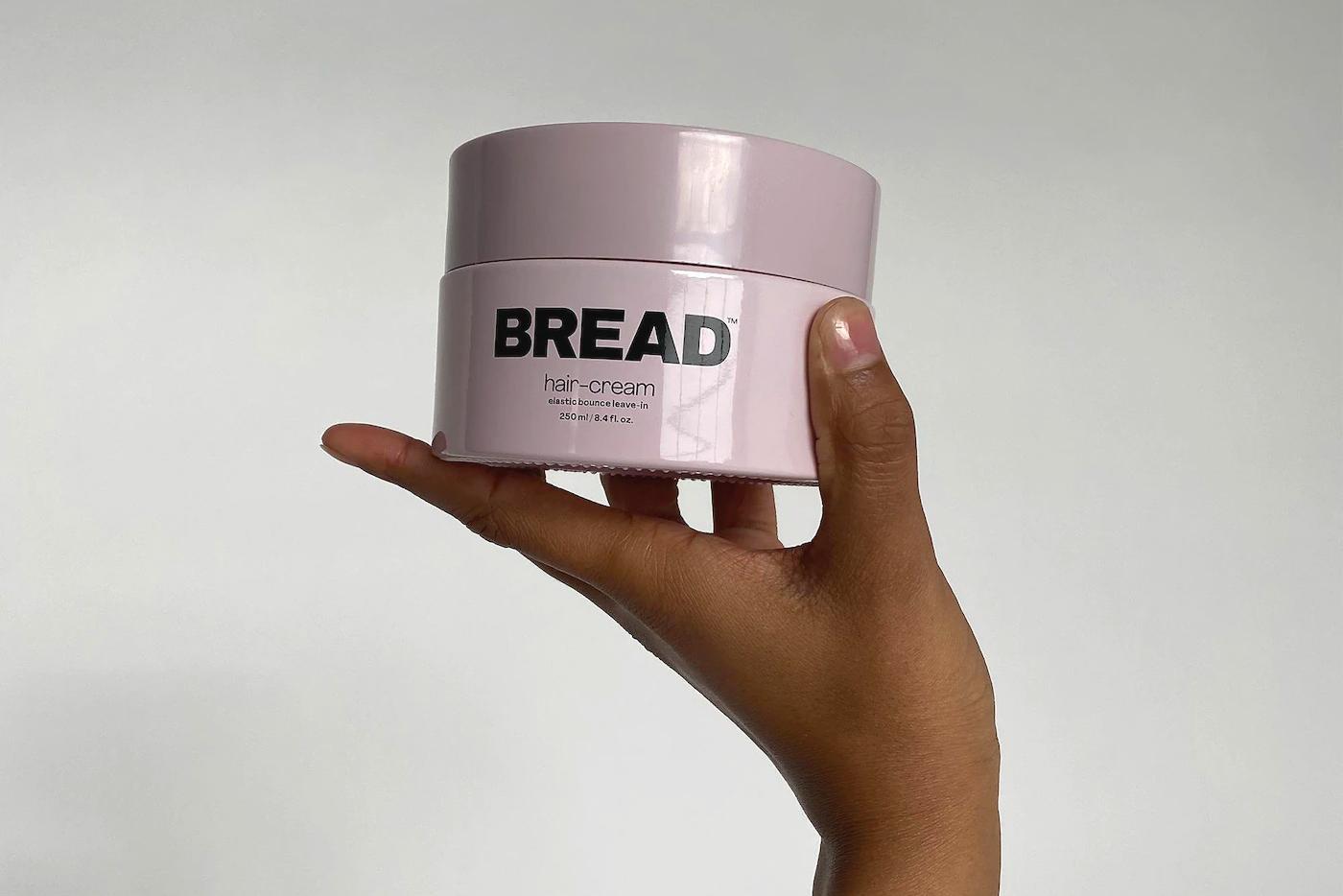 bread curl cream