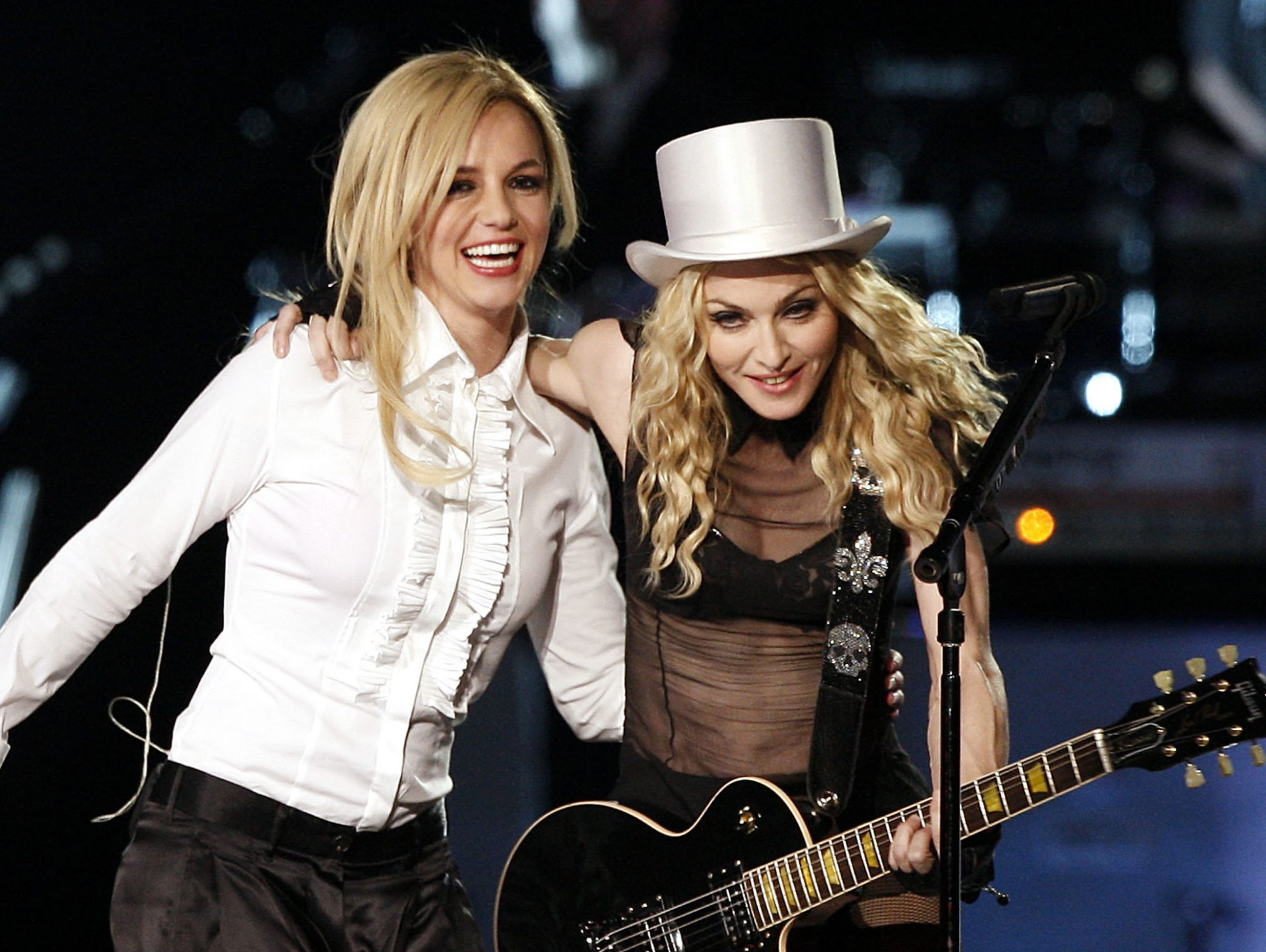 Britney Spears and Madonna
