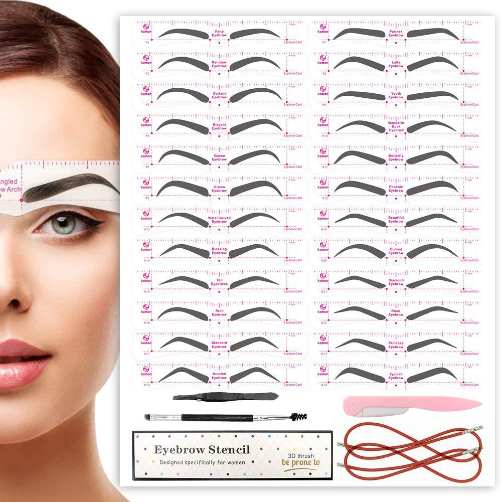 amazon eyebrow stencils review