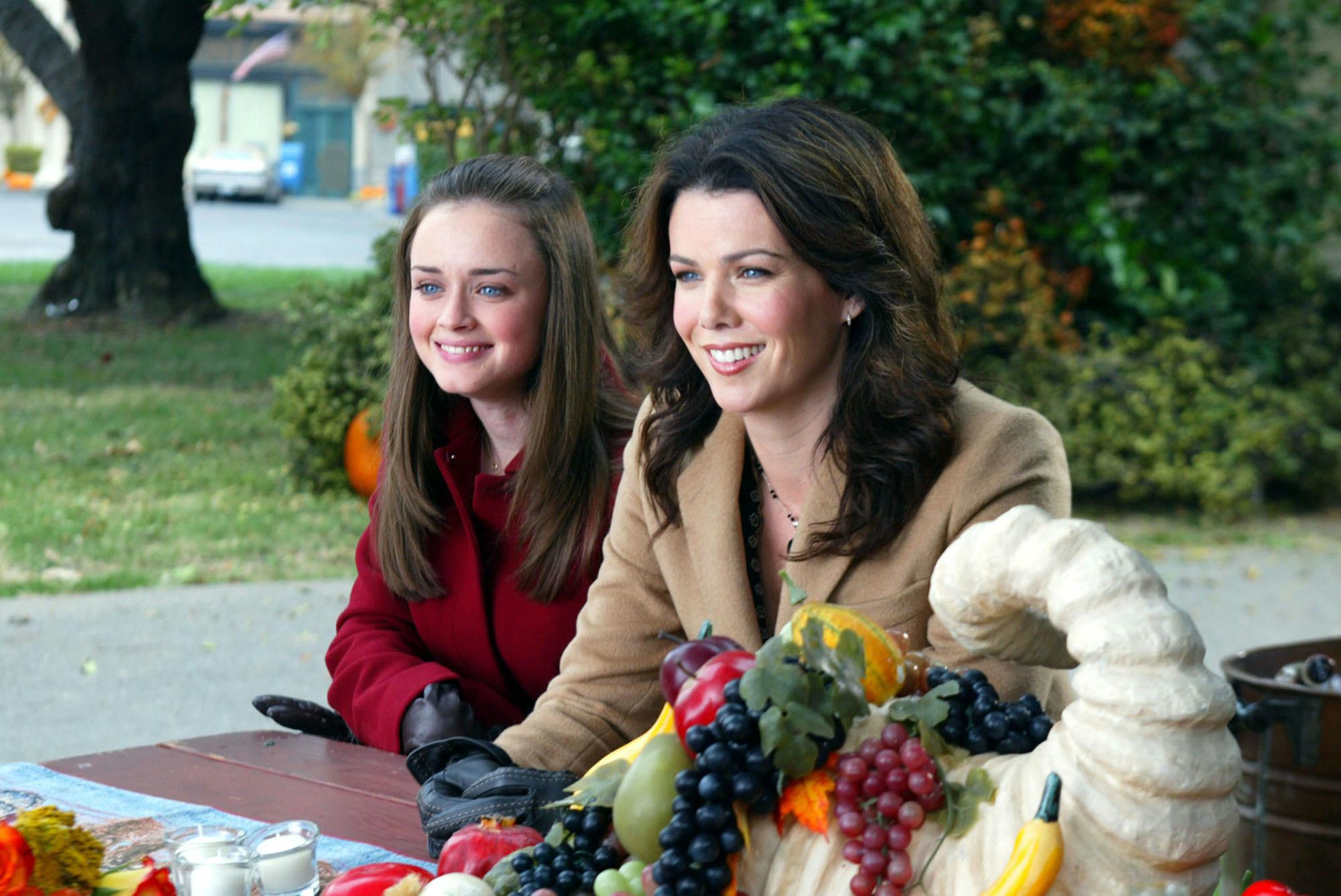 gilmore girls thanksgiving episode