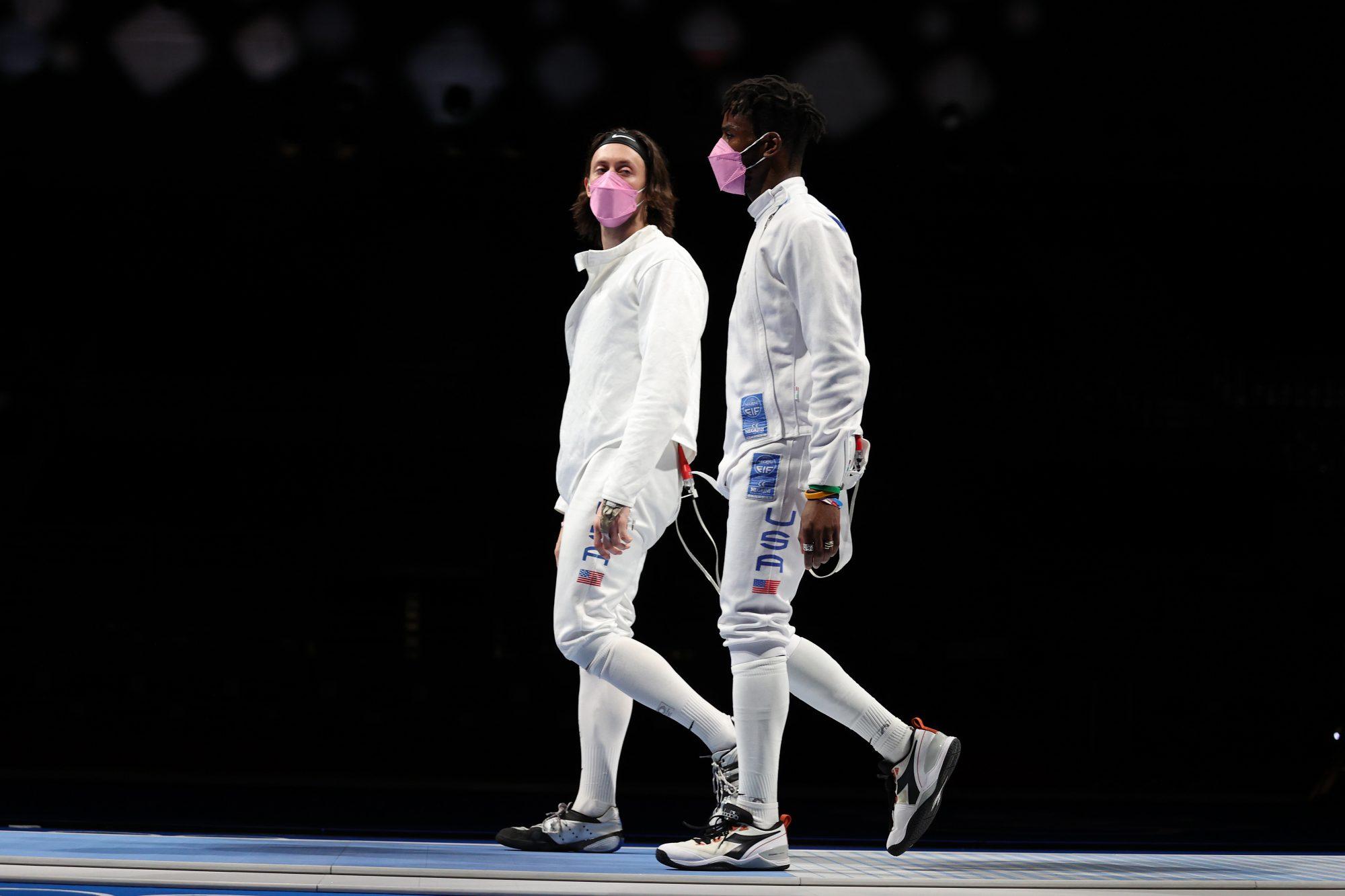 U.S. men's fencing team