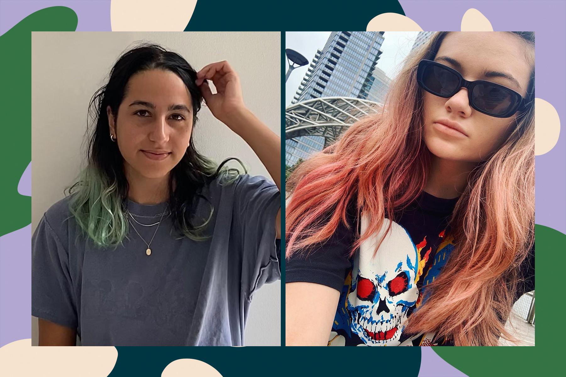 shrine hair dye drops