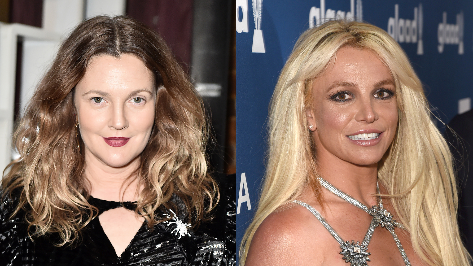 Drew Barrymore and Britney Spears