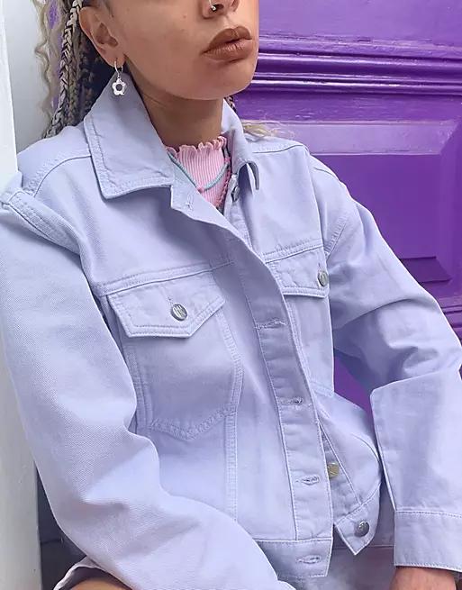asos purple jacket