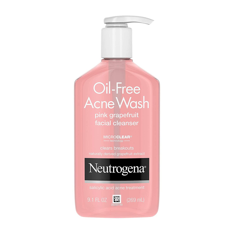 jenna ortega skincare routine face wash