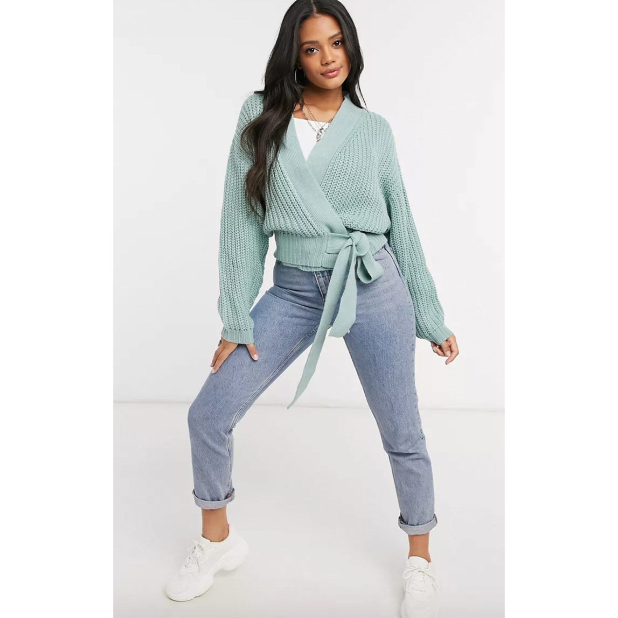 missguided-belted-cardigan