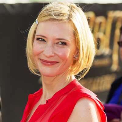 Cate Blanchett - Transformation - Hair - Celebrity Before and After