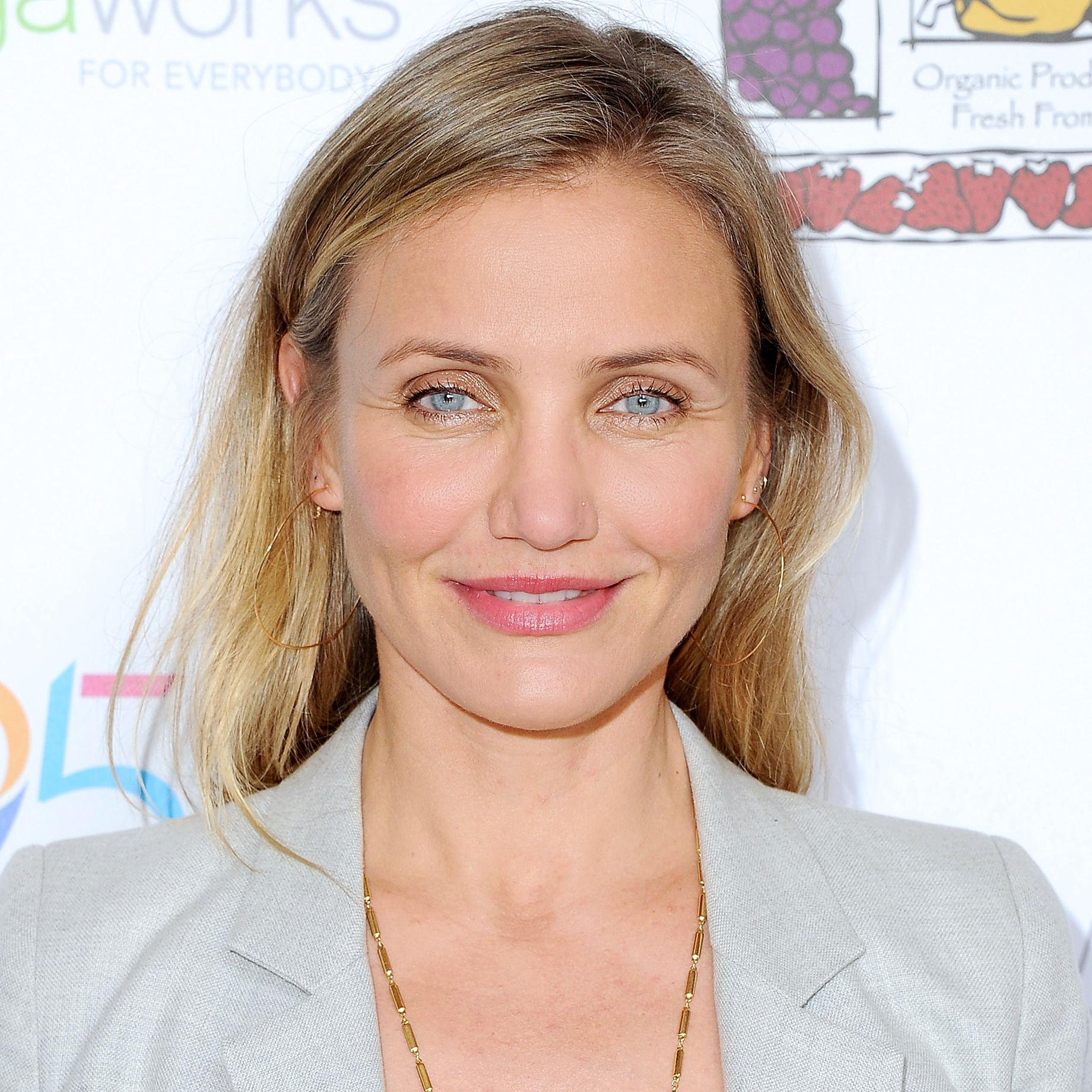 Cameron Diaz arrives at Because Age Is A State Of Mind