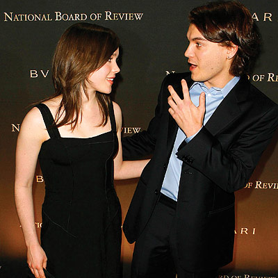 Ellen Page, Emile Hirsch, National Board Of Review awards gala, New York City