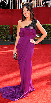 Lindsay Pierce in J. Mendel - Trends: Berry - Emmy Awards - 2009