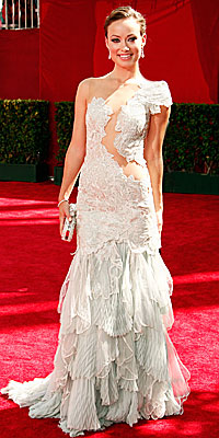 Olivia Wilde - Marchesa - Grecian Trend - Emmy Awards