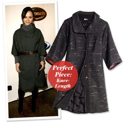 Christina Ricci - Find Your Most Flattering Coat - Short
