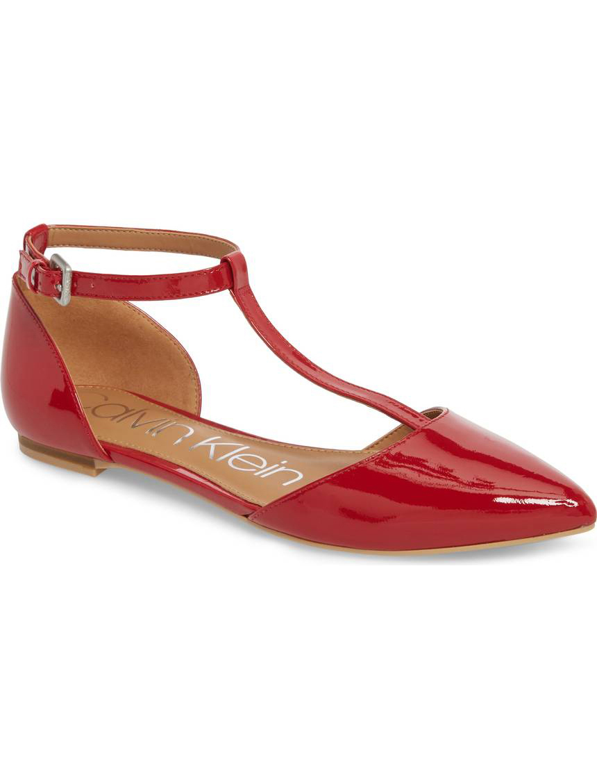 Jimmy Choo Red Flats