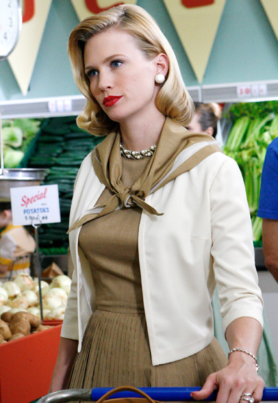 January Jones - The Most Fashionable TV Housewives - Mad Men