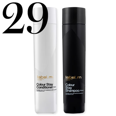 Label.m Colour Stay Conditioner and Shampoo
