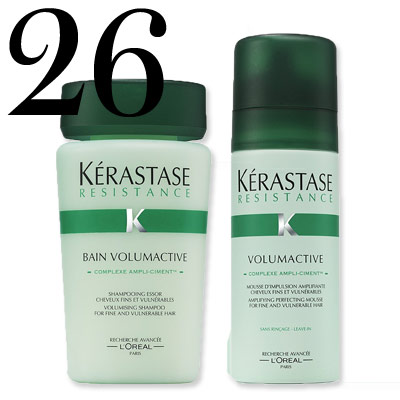 Kérastase Volumactive Shampoo and Mouss