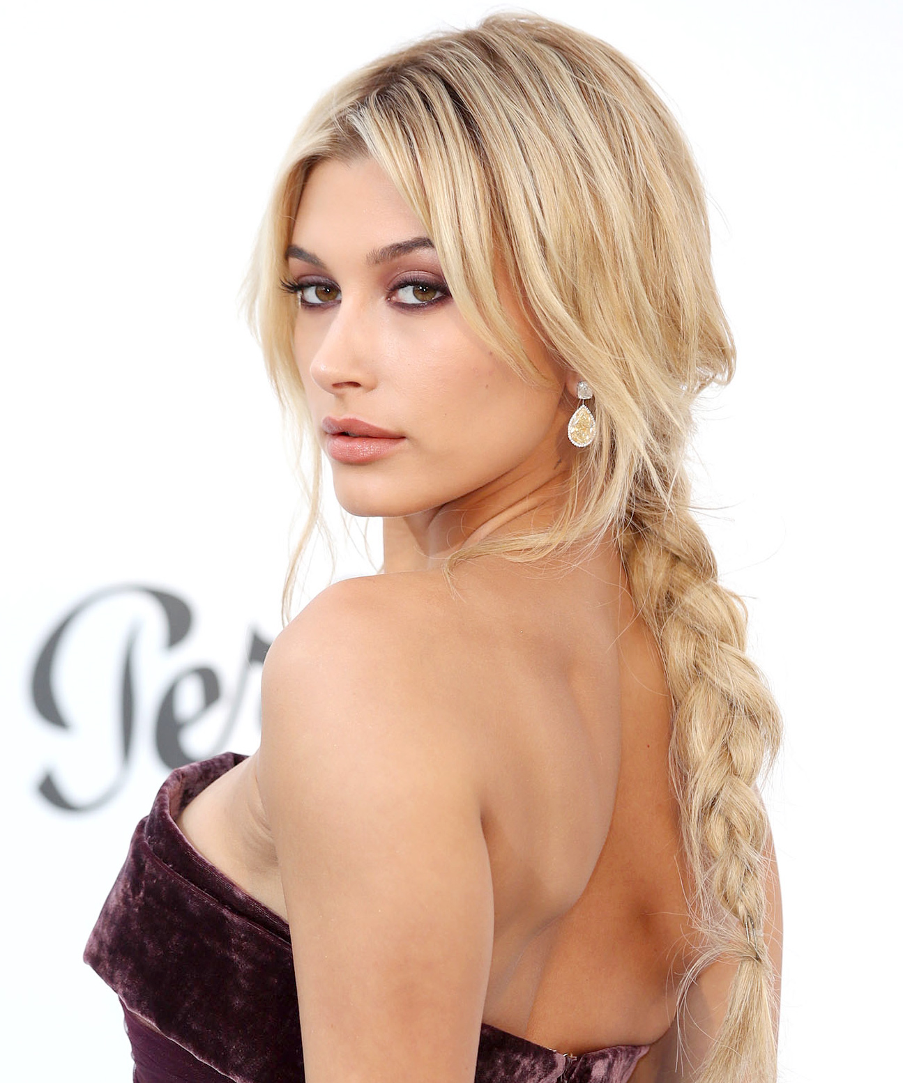 Hailey Baldwin's Loose, Textured Braid