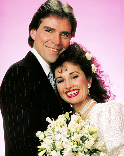 Susan Lucci and Larkin Malloy - All My Children Weddings - Erica Kane and Travis Montgomery
